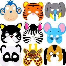 German Trendseller® - 8x Tiere Maske ┃Geburtstag┃Kinder┃Party┃Mitgebsel