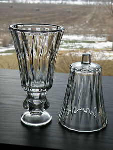 2 HOMCO Home Interiors KIMBERLY Ribbed Votive Cup Candle Holders