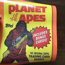 2017 Sdcc Comic Con Abrams Topps Planet Of The Apes Poa Promo Poster Mantle Wars