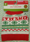 XS Ugly Christmas Sweater for Dogs Holiday Apparel Extra Small Cute * FREE SHIP
