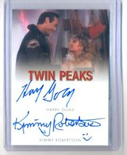 2018 Twin Peaks Harry Goaz & Kimmy Robertson Dual Autograph Auto