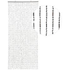 HAB & GUT Türvorhang GLITZER, CHROM, Kunststoff, 90 x 200 cm