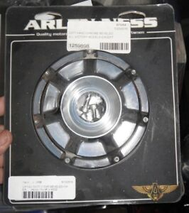 Arlen Ness Ignition Switch Covers for Victory Size Left Chrome
