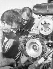 Tony Nancy Engine 8x10 Photo Vintage NHRA Dragster