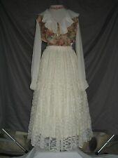Victorian Dress Women's Edwardian Costume Civil War Reenactment Outfit