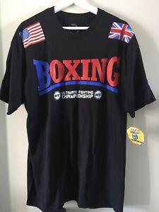 "UFC T-Shirt UFC Boxing T-Shirt Official UFC Merchandise Size Large 44"" Brand New"