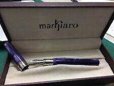 Markiaro Delta Fountain Pen Posillipo Purple Colour