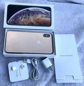 iPhone XS Max 64GB Gold, Verizon/Unlocked & Factory Reset, A1921 (CDMA + GSM)