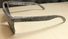 Oakley Men Sunglasses:  Frogskin - Fingerprint Polished White - OO Blk Irid Pol.