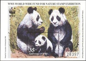 RUSSIA, 1996. STAMP EXHIBITION WWF - Pandas Miniature Sheet