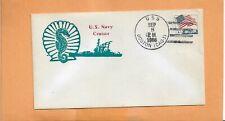 U.S.S  BOSTON CRUISER SEP 8,1966  NAVAL COVER