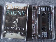 Florent Pagny, bienvenue chez moi. K7 audio / Audio tape