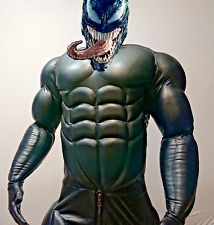 leather muscle suit