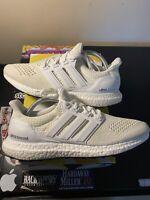 Adidas Ultra Boost 1.0 Triple White Men's Size 9.5 S77416