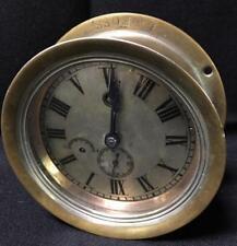 Brass Ship's Clock Lot 3093