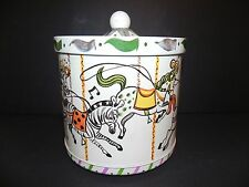 GUILDCRAFT VINTAGE MERRY GO ROUND THEMED ICE BUCKET - EXCELLENT MID CENTURY