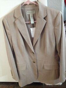 Banana Republic Jacket Blazer Womens 6 NWT New Wool Blend Professional $149.99
