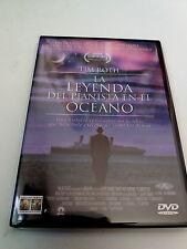 "DVD ""LA LEYENDA DEL PIANISTA DEL OCEANO"" COMO NUEVO GIUSEPPE TORNATORE TIM ROTH"