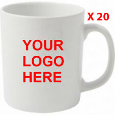 20 Bulk Buy Promotional,Personalised,Business Printed photo Mug text,logo,image