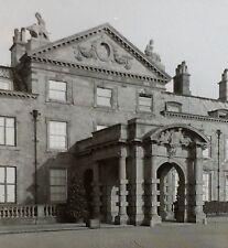1910, Welbeck Abbey, Nottingham, England, Magic Lantern Glass Slide