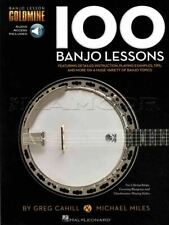 100 Banjo Lessons TAB Music Book/Audio Learn How To Play SAME DAY DISPATCH
