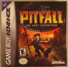 Pitfall: The Lost Expedition (Nintendo Game Boy Advance, 2004) new sealed