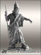 # 481 Tin soldiers 54mm WARRIOR King Assyrian Empire Sargon II (722 – 705 BC)