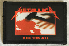 Metallica Kill 'Em All Morale Patch Tactical Military USA Hook Badge Army Flag