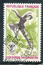 STAMP / TIMBRE FRANCE OBLITERE  N° 1546  SPORT / JEUX OLYMPIQUES GRENOBLE