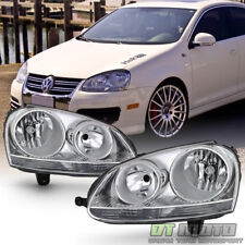 2006 2007 2008 2009 Volkswagen GTI/Jetta/Rabbit Headlights Headlamps Left+Right