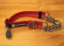 Ruffwear Chain Reaction Dog Collar Kokanee Red Small, Medium Available