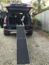 Large FOLDING PET DOG RAMP LADDER STEP NON SLIP SURFACE 183CM JET-PR1