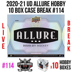 New York Islanders - 20-21 Upper Deck Allure Hockey 10 Hobby Box Case Break #114