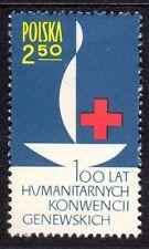 Poland - 1963 Red Cross centenary - Mi. 1392 MNH