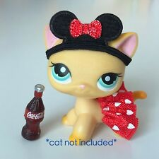 Littlest Pet Shop Accessories LPS Clothes Mouse Ears Lot CAT DOG NOT INCLUDED