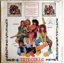 VINILE LP 45 GIRI RPM TOTO COELO I EAT CANNIBALS TIC 10 12 1982