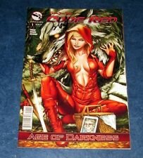 grimm fairy tales presents CODE RED #1 signed TALENT CALDWELL variant 1st print