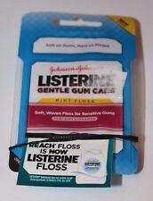 Listerine Gentle Gum Care Mint Floss 50 yd (45.7 m)  X2