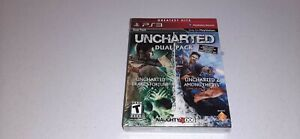 Uncharted Dual Pack (Sony PlayStation 3, 2011) PS3 Greatest Hits Game New Sealed