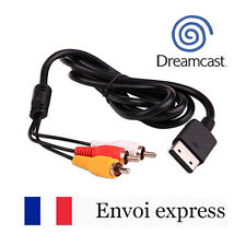 Cable video / cordon peritel RCA pour Sega Dreamcast - NEUF console DC