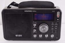 Eton Grundig Field BT AM/FM Shortwave Radio with RDS and Bluetooth