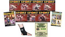 Ernie Boggs 7 Dvds + Books & More Set Sport Jiu-Jitsu Ring & Street Fighting