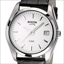 Boccia Quartz Dress Watch with Light Weight 40mm Titanium Case #3548-01