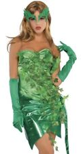 Posion Toxic Ivy Costume UK 10-12 Villian Fancy Dress