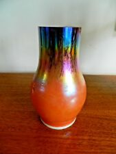 Multicolour Vintage Glass Oil Lamp Chimney Unusual  Colour Glass