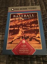 A PBS Home Video, Th History Of Baseball 1900-1994 + Extra Inning By Ken Burns