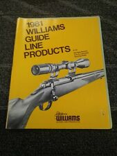 1981 Williams Guide Product Catalog
