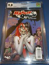 Harley Quinn #8 New 52 CGC 9.8 NM/M Gorgeous Gem