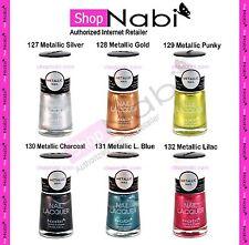 Metallic Nail Polish 6pcs Nabi Nail Manicure (Pick any 6 colors)