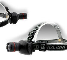 Q5 LED High Power Zoom Headlamp 3 functions Headlight Flashlight Handfree light